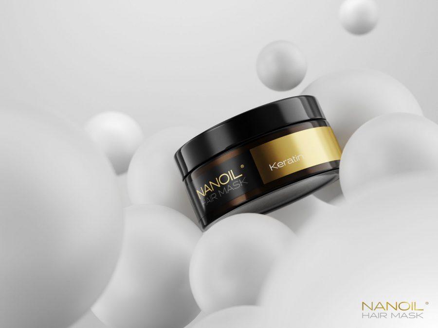 Nanoil den bedste keratin hårmaske