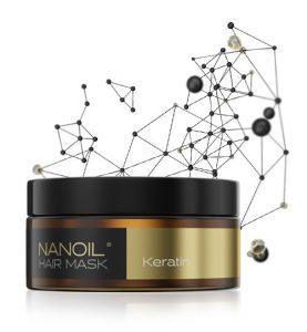 Nanoil hårmaske med keratin