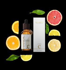 anbefalet vitamin c ansigtsserum Nanoil
